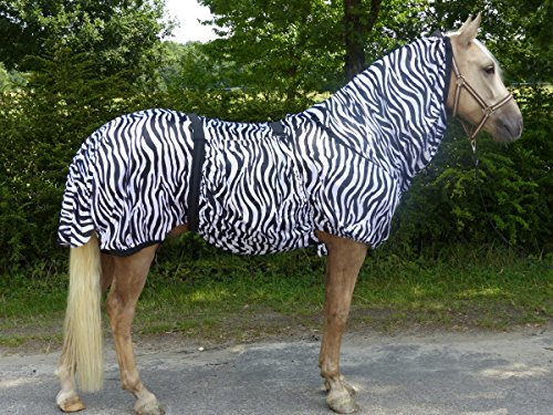Hafer24 Fliegendecke Ekzemerdecke Marty Zebra Größen 95-165 (125)