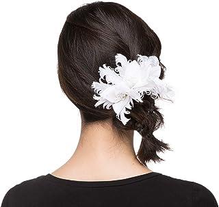 手工制作新娘发饰件发箍发带 3D 花卉串珠发夹 DHE19