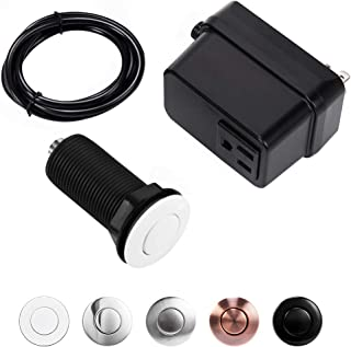 CLEESINK Garbage Disposal Air Switch Sink Top Kit with Single Outlet White LONG/2.5