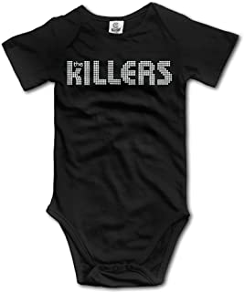 Baby Outfits Rock Band The Killers Wordmark Logo Cool Baby Jumpsuit
