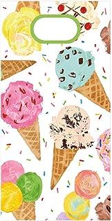 Caspari Ice Cream Scoop Party Favor Bags, 16 Gift Bags