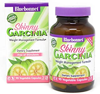 BlueBonnet Skinny Garcinia Weight Management Formula, 90 vcaps