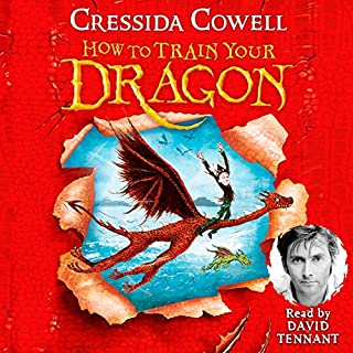How to Train Your Dragon                   By:                                                                                                                                 Cressida Cowell                               Narrated by:                                                                                                                                 David Tennant                      Length: 3 hrs and 29 mins     957 ratings     Overall 4.7