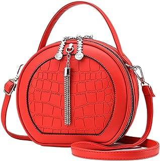 Vismiintrend Round Sling bag for women | Stylish Sling Bag Women | Crossbody bag | Shoulder Handbag | Top Handle Bag | Des...