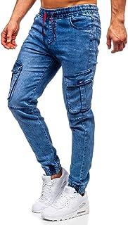 Hombre Pantalones Jogger Estilo Urbano Bolsillos 6F6 Motivo
