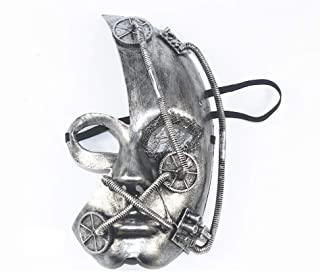 Halloween Punk Mask Female Masquerade Princess Sexy Half Face Mask Adult Children Party Temperament happyL