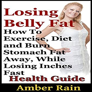 Losing Belly Fat audiobook cover art