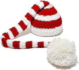 crochet baby christmas hats