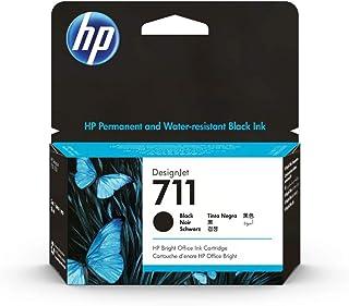 HP 711 Gelb 29 ml Original Druckerpatrone (CZ132A) mit originaler HP Tinte, für DesignJet T120, T125, T130, T520, T525, T530 Großformatdrucker sowie den HP 711 DesignJet Druckkopf