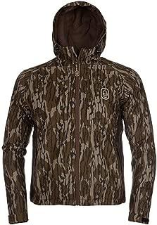 Hard Core Season Opener Full Zip Hooded Jacket (Mossy Oak Bottomlands, Large)