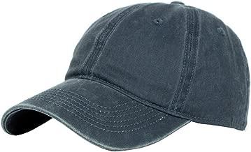 Wicemoon - Gorra de béisbol de algodón con Sombra de Sol para Hombre y Mujer, 6 Colores