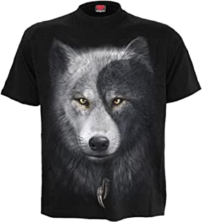 Mens - Wolf Chi - T-Shirt Black