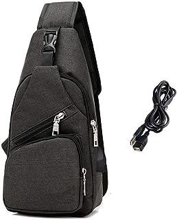 Sling Bag Shoulder Crossbody Chest Bags Lightweight Outdoor Sport Travel Backpack Daypack for Men Women