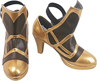 DUNHAO COS Anime Fire Emblem Echoes: Shadows of Valentia Claire Halloween Cosplay Custom Made Shoes Boots