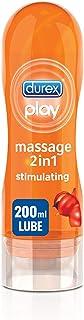 Durex Play Stimultrating Massage 2in1 Lube arousing Guarana - 200ml Gel