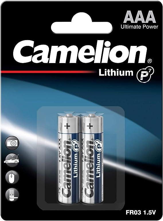 Camelion 19000122 Lithium Batterien Er9 9 Volt Block Elektronik