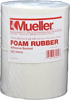 Mueller Foam Rubber - Adhesive backed, open cell, 1/4