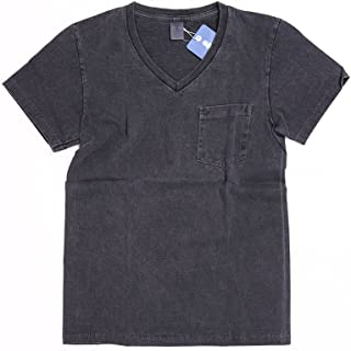(ベルバシーン) Velva Sheen ピグメントVネックTシャツ [161365]