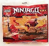 LEGO Ninjago: Dragon Fight Con Kai Minifigura Establecer 30083 (Bolsas)