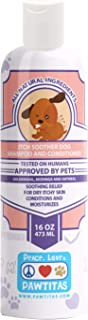 Pawtitas Dog Shampoo and Conditioner Aromatherapy Pet Care Plant Based Made with Certified Organic Natural Herbs, Essentia...