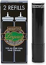 Cork Pops Wine Bottle Opener Refill Cartridge Pack Of 2