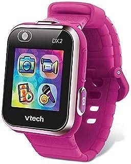 VTech - Kidizoom Smartwatch Connect DX2 – Framboise – Montre Connectée Pour Enfants – Version FR