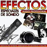 Música de Terror, Ambientes de Misterio y Dolor. Efectos Especiales de Sonido. Audio Profesional