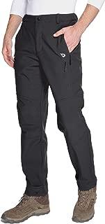 Baleaf Men's Winter Hiking Pants Ski Fleece-Lined Water-Resistant Windproof Insulated