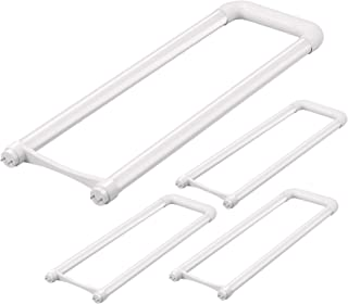 T8 U Bent LED Tube Light - Romwish 18W(40W Replacement) 2x2FT U Bend LED Bulbs, 6 in. Leg Spacing, 5000Kelvin Daylight, 20...