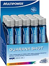 Multipower Sportsfood 25ml Guarana Shots – Pack of 20 Shots Estimated Price : £ 29,99