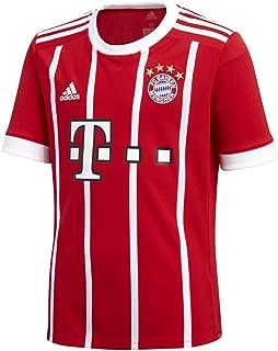 adidas FC Bayern Munich Home Soccer Stadium Jersey (Red/White)