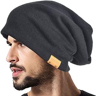 Men Oversized Slouch Beanie Large Skullcap Knit Hat