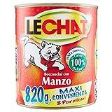 Lechat - Bocconcini, Con Manzo - 12 pezzi da 820 g [9840 g]