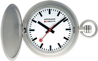 Mondaine 瑞士国铁表 瑞士品牌 新型 石英怀表 A660.30349.16SBB