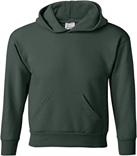 Hanes Youth 7.8 oz ComfortBlend 50//50 Pullover Hood XL Deep Forest