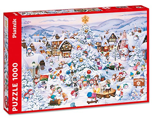 Piatnik 5660 - Christmas Choir Puzzel, 1000 delen