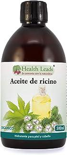 Aceite de ricino prensado en frío y orgánico, Puro y