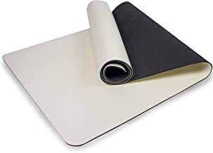 Myga Grote uitlijning yogamat met lichaamsuitlijning, antislip grote yogamat, hoge dichtheid TPE padding, 205 x 70 cm, 6 m...