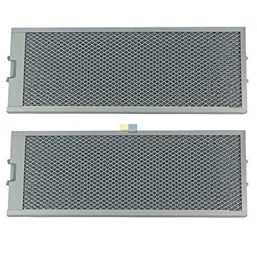 Metalen roosterfilter vetfilter rechthoekig metaal 529x206mm afzuigkap Original Bosch Siemens 00353110 460007 met eenzijdige ontgrendeling Constructa Balay Neff Lynx DIZ14MF CZ5250 6896 Z5341X0