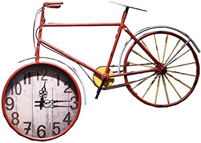 Lovely Reloj De Pared Industrial De La Bicicleta De La Barra del ...