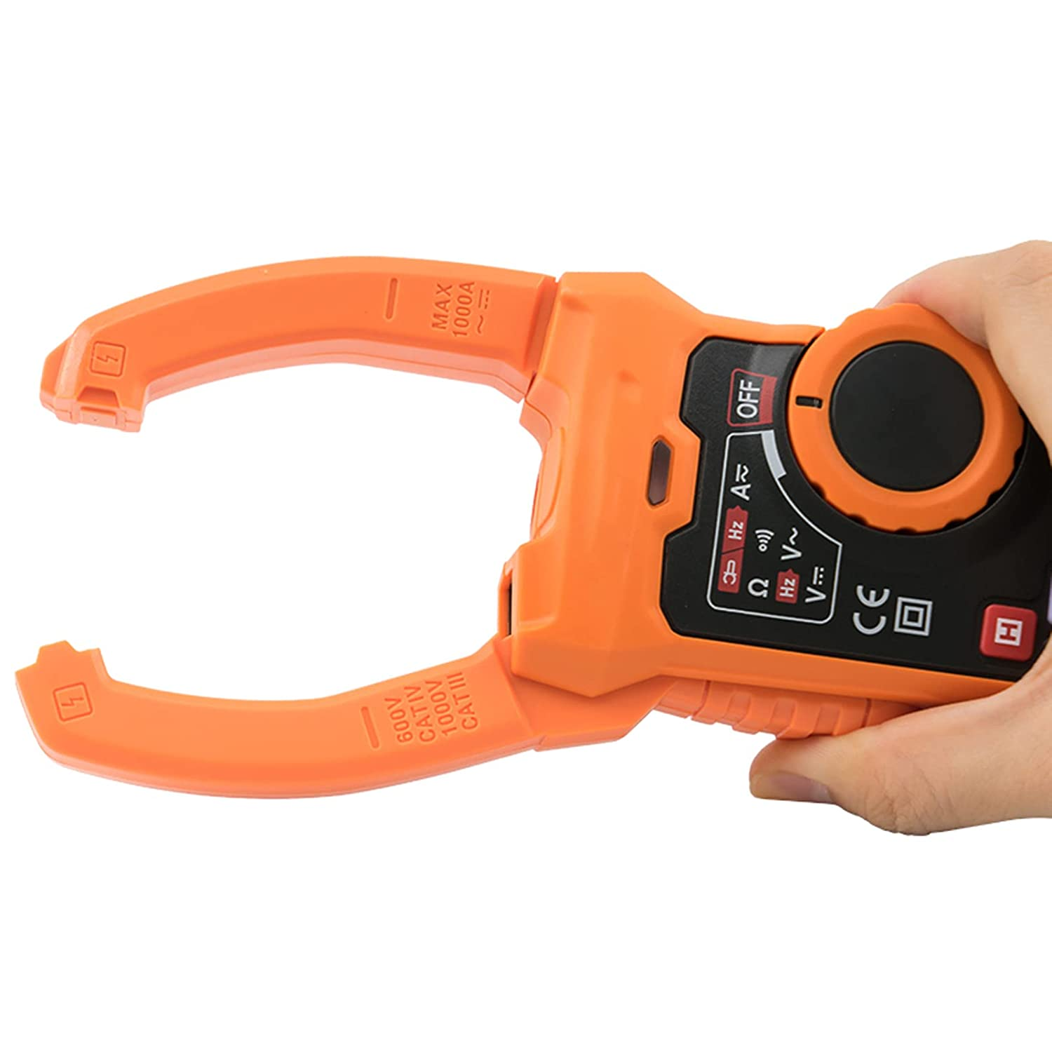 Wowlela PM2128S Ac Dc Current Handheld Non-Contact Digital Excellence San Jose Mall Clamp
