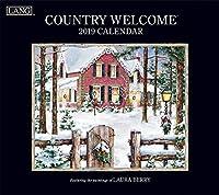 The LANG Companies Country Welcome 2019 Wall Calendar (19991001907) [並行輸入品]