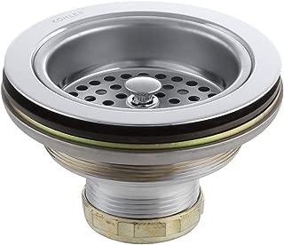 KOHLER 8799-CP Duostrainer Sink Strainer, Polished Chrome, 1.5