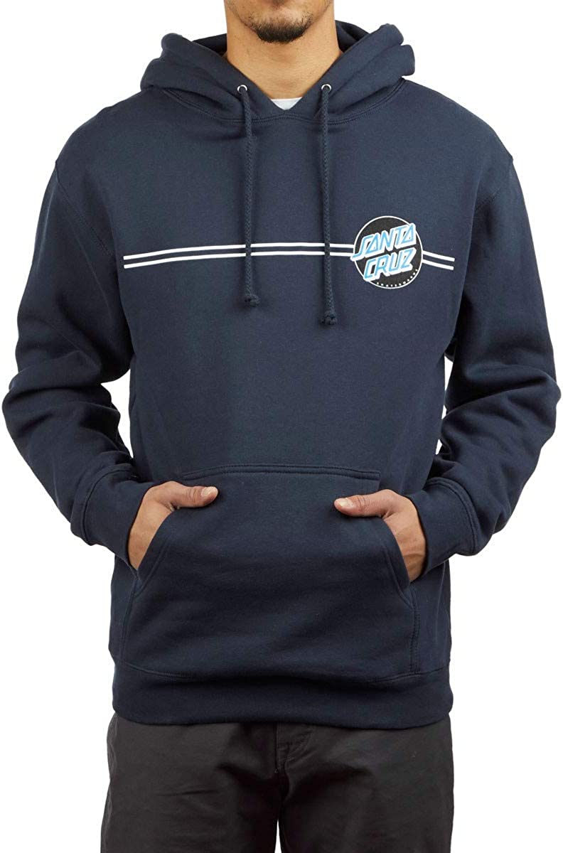 Santa Cruz Other Dot (Charcoal Heather/White) Pullover Hoodie
