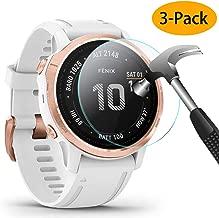 KIMILAR Pellicola Protettiva per Garmin Fenix 6S / Fenix 6S PRO/Huawei GT, 3 Pack Protezione Schermo in Vetro Temperato per Huawei GT/Garmin Fenix 6S / 6S PRO (Not for Fenix 6/6 PRO / 6X PRO)