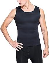 Hhwei Mannen Taille Trainer Vest Zweet Neopreen Sauna Tank Top Workout Shirt Hot Thermo Body Shaper Workout
