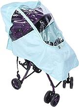 HERCHR Cochecito de bebé Universal Cubierta de Lluvia Sillas de Paseo Protector de Polvo a Prueba de Viento