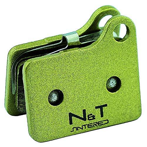 Noah et Theo Nt-bp035/SI Plaquettes Plaquettes de Frein à Disque pour Shimano Deore BR M555, M556, Nexave BR C901. Également Compatible avec Shimano M02 Électrodes de Remplacement.