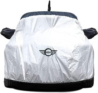 Color : Black, Size : ONE Geeignet f/ür Mini Car-Cover Mini Cooper ONE ONE Plus Cooper S Cabrio Clubman Countryman Sonnenschutz Regenfest Verdickungsisolierung Mini Special Car-Cover