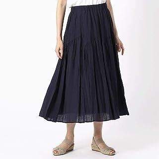 (コムサ イズム) COMME CA ISM デザイン切り替え ギャザースカート 12-50FL15-109